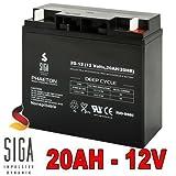 Akku 20Ah 12V AGM Blei Gel Batterie Rasenmäher...
