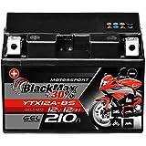BlackMax YTX12A-BS Motorradbatterie GEL 12V 12Ah...