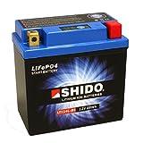 Motorrad Batterie Shido Lithium LTX14L-BS /...