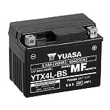 Motorrad Batterie YUASA YTX4L-BS, 12V/3AH (Maße:...