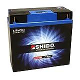 Batterie Shido Lithium 51913, 12V/19AH (Maße:...