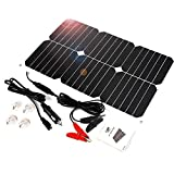 ALLPOWER Solar Panel Battery Maintainer 18V 12V...