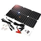 ALLPOWER Solar Panel Battery Maintainer 18V 12V...