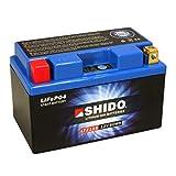 Motorrad Batterie Shido Lithium LTZ12S / YTZ12S,...