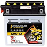 Panther Motorradbatterie 12V 7Ah 50713 12N7-4A