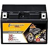 Panther Motorradbatterie GEL 12V 10Ah YTX12A-BS...