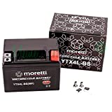 Original Moretti Gel Batterie YTX4L-BS / MTX4L-BS...