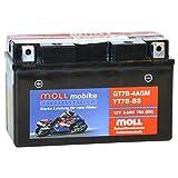 Moll mobike AGM Motorradbatterie YT7B-BS 5,5Ah 12V...