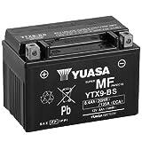 Motorrad Batterie YUASA YTX9-BS, 12V/8AH (Maße:...