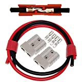 CESFONJER Batterieanschluss 2 Pcs 50A Stecker -...