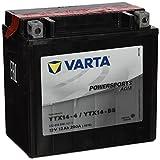Varta YTX14-BS Powersports AGM Batterie 12V 12Ah...