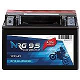 NRG AGM Roller Batterie 9.5AH 200A/EN 12V YTX9-BS...