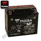 YUASA YTX12-BS Batterie, 12Â V/10Â AH (Maße:...
