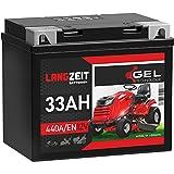 Langzeit Rasentraktor Batterie 33Ah 12V GEL...