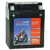 Moll mobike AGM Motorradbatterie CB14-A2 13Ah 12V...