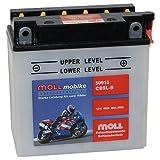 Moll mobike Motorradbatterie CB9L-B 9Ah 12V 80A -...