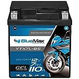 BlueMax YTX7L-BS Motorradbatterie GEL 12V 7Ah...