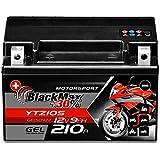 BlackMax YTZ10S Motorradbatterie GEL 12V 9Ah Akku...