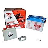 Yuasa YB4L-B(CP) Motorradbatterie (inkl....