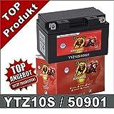 Motorrad Batterie YTZ10S 50901 GEL 9Ah 12Volt...