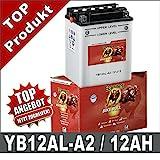 Banner 51213 Motorradbatterie 12AH
