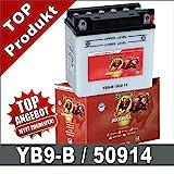 Banner Motorrad Batterie YB9-B, CB9-B 9Ah 12Volt...